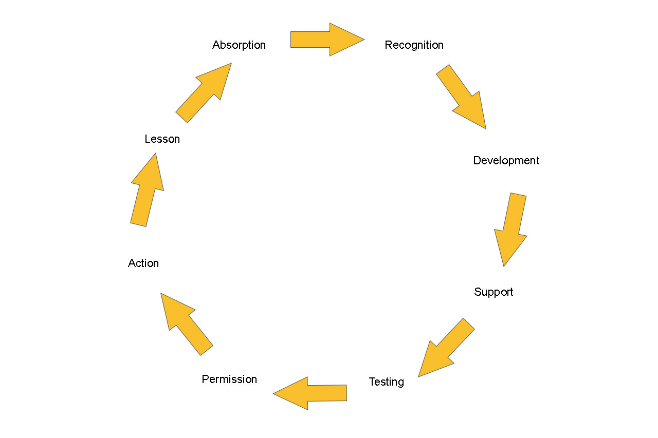 Action Cycle of an Intrapreneur
